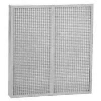 China Mini - pleat light weight Washable Metal Mesh Air Filter For Cleanroom with Galvanized iron frame wholesale