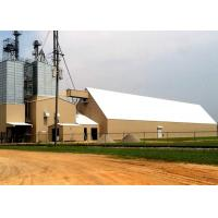 China Large Span H Section Industrial Steel Frame Building For Processing Cattle Feed wholesale
