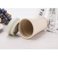 China Biodegradable Unbreakable Portable Travel Mug , Water Reusable Coffee Mug With Lid  wholesale