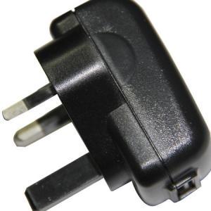 China UK plug Moblie phone charger, Portable USB charger, 5V adaptor wholesale