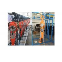 China Customized Color Lifting Tools , Lever Chain Block Cold Formed / Stamped Steel on sale