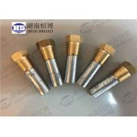 China ASTM B418-95 Water Heater Anode Rod Complete Zinc Pencil Anode For Marine Engine wholesale