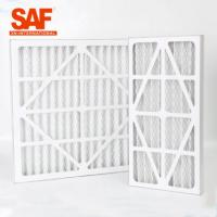 China HVAC System Pre Air Filter Cardboard Frame Primary Efficiency For Industrial Air Purifier wholesale