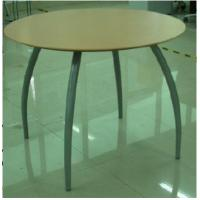 Buy cheap MDF E1 Board Dining Table with Iron Tube Legs DTBS-07 from wholesalers