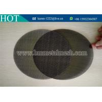 China Plastic Extruder Screen and Mesh Filters wholesale