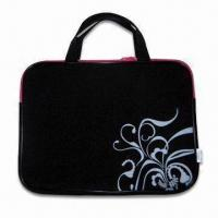 China Laptop Sleeve with Zipper, Made of 3mm Neoprene, Measure 15 Inches wholesale
