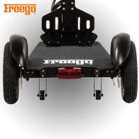 China Freego Solo Patented 3 Wheel Electric Scooter With Seat For Old Personal Transporters wholesale