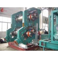 China Alloy Chilled Cast Iron 4 Rollers Rubber Calender Machine 3-30m / min 0.3 – 6 mm on sale