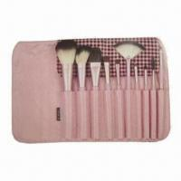 China Makeup Brush Set with Wooden Handle wholesale