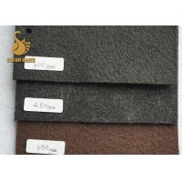 China 200GSM Grey No-slip Non Woven Material With Flower Standard Pvc Dots Needle Punched Felt wholesale