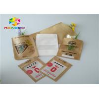 China Customized printed kraft paper ziplock stand up pouch beef jerky snack plastic packaging bag with clear window wholesale