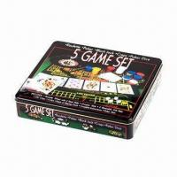China 5 game set, non-slip and with plastic material wholesale