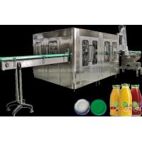 China Automatic Juice Flavor Glass Bottle Filling Machine , Water Bottling Equipment / Line wholesale