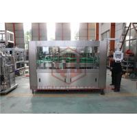 China Fully Automatic High Speed Water Bottle Filling And Bottling Machine PLC Control wholesale