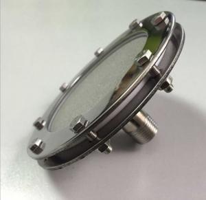 China Sintered titanium powder aerator porous titanium aerator parts Metal Sintered Powder Filter plate wholesale