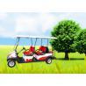 China Carro de golf grande de Seater del neumático 6, Ce eléctrico legal de los carros de golf de la calle aprobado wholesale