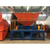 Buy cheap Henan Ling Heng LHSSM-1500 Twin-Shaft Shredder Machine widely used in area of from wholesalers