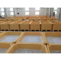 China 660L  Euro Rotomolding cooler fish totes and fish container frozen fish holding bin fish ice cooler box wholesale