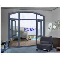 China Soundproof Aluminium Windows And Doors With German SI Or Kinlong Hardware wholesale