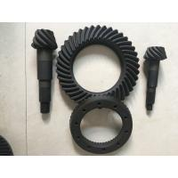 China High Rigidity Crown Wheel And Pinion Gear , Spiral Differential Ring Gear wholesale