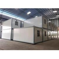 China Comfortable Prefabricated Container House / Prefab Shipping Container Homes on sale