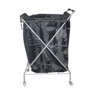 China Towel Hair Salon Furniture Hand Trolley Cart with Anti Aging / Abrasion wholesale