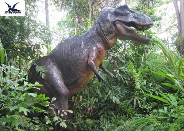Quality Museum Display Animatronic Dinosaur Garden Statue 1 - 30 Meters Long CE , RoHS for sale