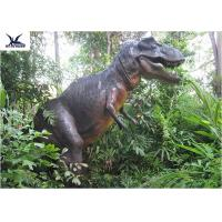 China Museum Display Animatronic Dinosaur Garden Statue 1 - 30 Meters Long CE , RoHS wholesale