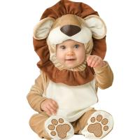China Lion Infant Baby Costumes Boys Christmas Outfits with hood Spring 2018 wholesale