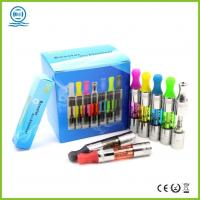 China Healthy Blue Spring Dual Coil Booster / Vapor Cigarette Pipe Mega Vapor wholesale