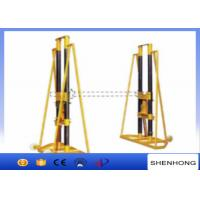 China 15 - 20Ton Electrical Hydraulic Cable Drum Jack Stand For Large Cable Tray wholesale