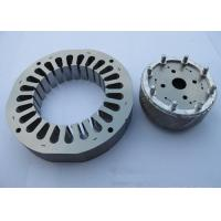 China Silver Color Motor Stator Core Custom Dimension With Winding Copper Wire wholesale