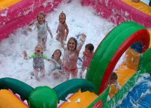 China Inflatable Bubble Fun Commercial Inflatable Foam Pit For Sale wholesale