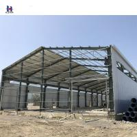 China Q345 Prefabricated steel structures for workshop metal-beams on sale