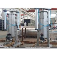 China Blue Carbon steel self cleaning filter strainer for pulp and paper filtration wholesale