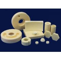 China Electrical Insulation Alumina Ceramic Components , Corrosion Resistance Ceramic Hexagon on sale