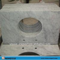China carrara white marble countertop ,granite bathroom vanity tops,granite worktops on sale