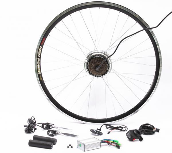 Quality Cassette Wheel Sprocket Electric Bicycle Hub Conversion Kit For Safety Ride for sale