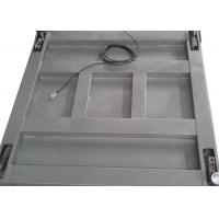 China Single Deck Industrial Floor Weighing Scales 1.2 X 1.5m 3t Powder Coated With Ramps wholesale