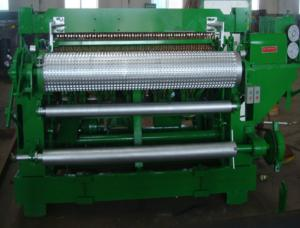 China Automatic electric steel welded wire mesh machine for roll fence wholesale