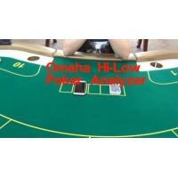 China Omaha Hi-Low Poker Card Analyzer to Know the High & Low Card Best Hand wholesale