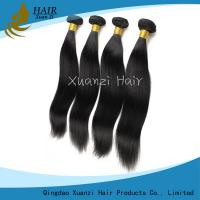 Silky Straight Malaysian Virgin Hair Extensions Double Weft No Smell No Shedding for sale