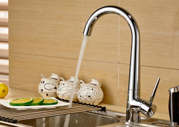 Quality ROVATE Single Hole Vessel Vanity Kitchen Faucet Low Pressure Brass for sale