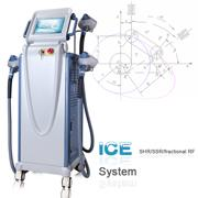 China Permanent shr hair removal machine 4 in 1 e light ipl rf laser wholesale