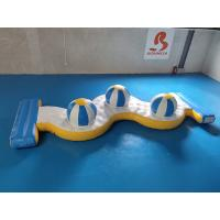 Buy cheap Bouncia Inflatable Water Park Crazy Water Games 3 Caps from wholesalers
