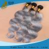China Серый зажим в расширениях волос, ранг Ремы волны 7А мягкого ровного Веаве волос девственницы свободная wholesale
