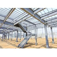 China Lightweight Steel Storage Buildings , H Section Galvanized Steel Frame Building wholesale
