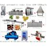 China China factory price YIXUN cake machine 100kg - 150kg / h muffin cupcake custard madeleine cake production line machinery wholesale