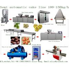 China Semi Automatic Cup Cake Custard Production line Economic Semi auto cupcake muffin production processing line machine wholesale