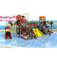 China Commercial Water Park Playground Equipment Multi - Functional Unique Blow Up Water Slide wholesale